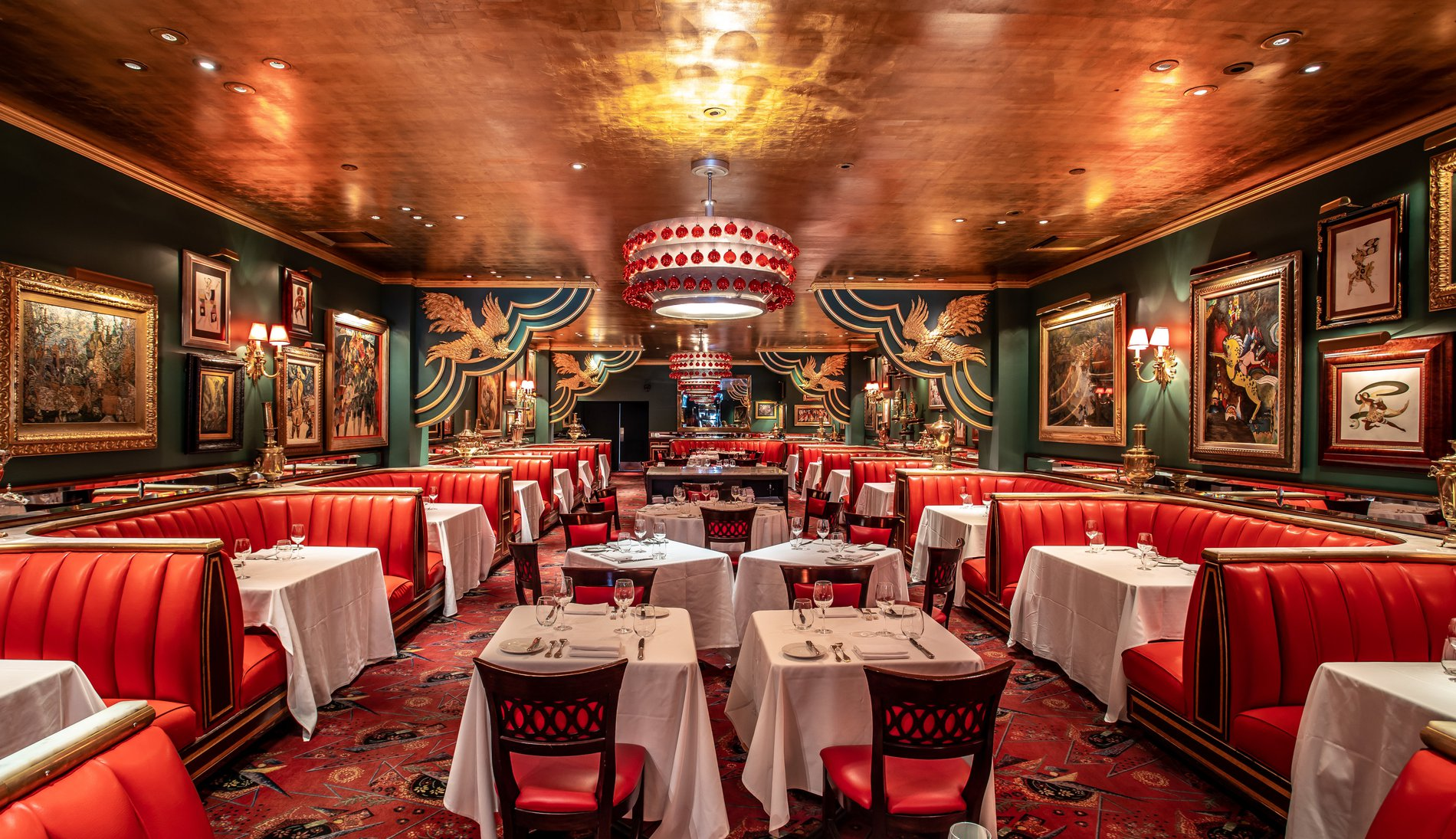 The Russian Tea Room Iconic Restaurant Midtown Central